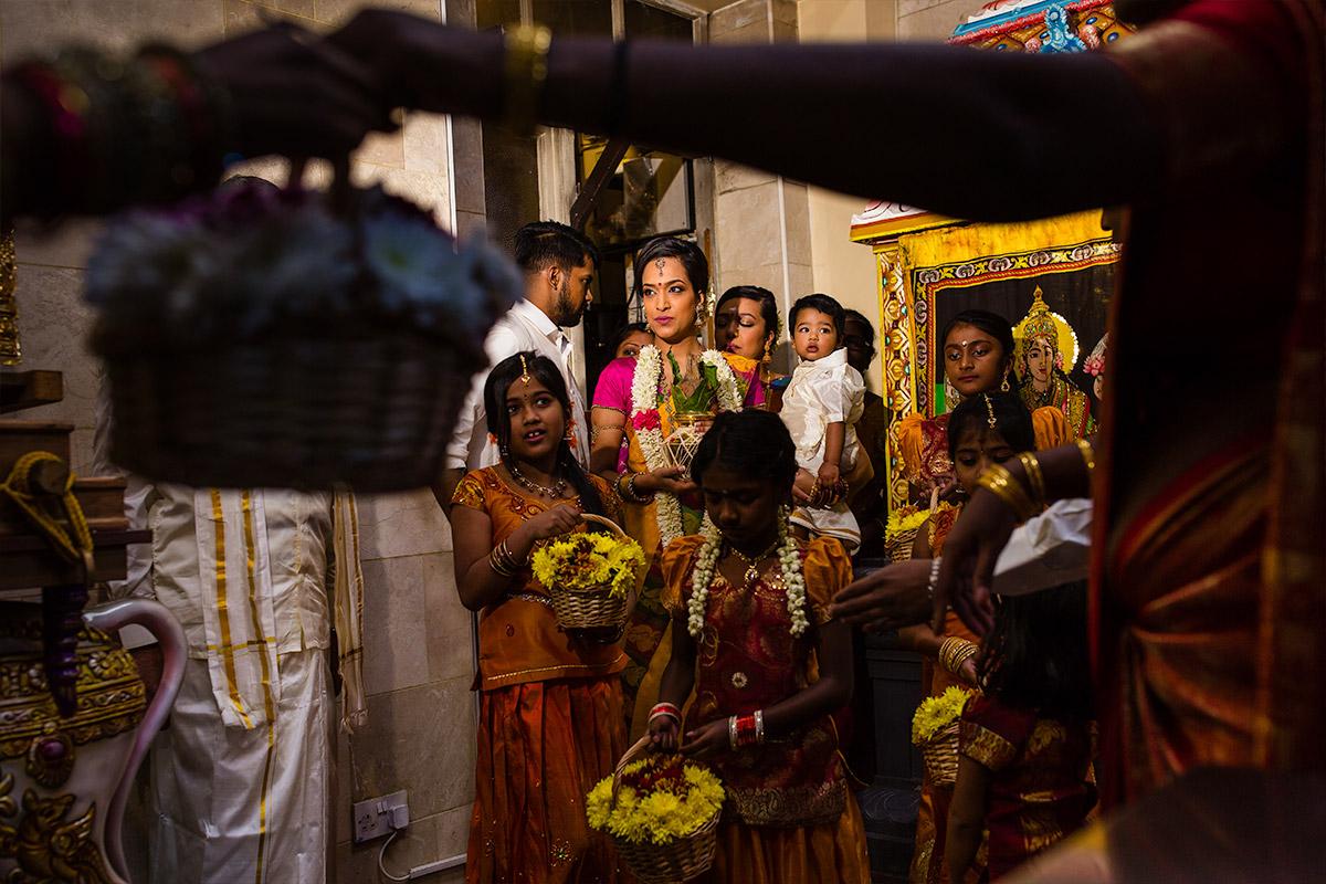 Kalai & Kardhika Tamil Hindu Wedding 12
