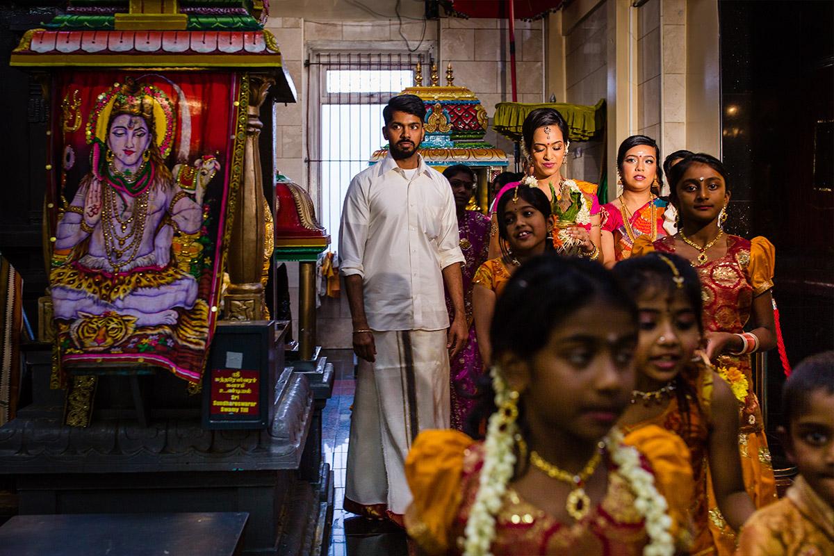 Kalai & Kardhika Tamil Hindu Wedding 14