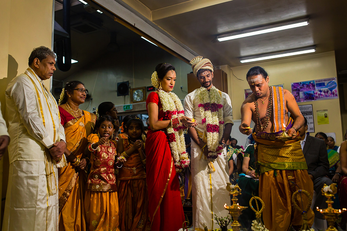 Kalai & Kardhika Tamil Hindu Wedding Prayer