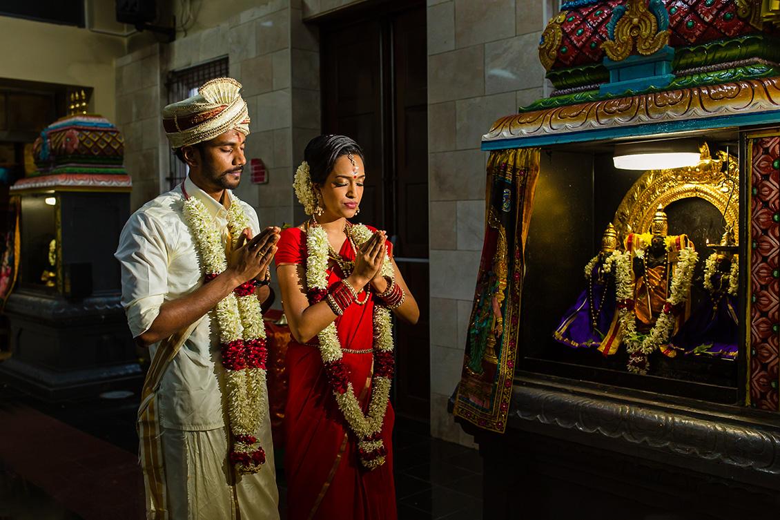 Kalai & Kardhika Tamil Hindu Wedding 48