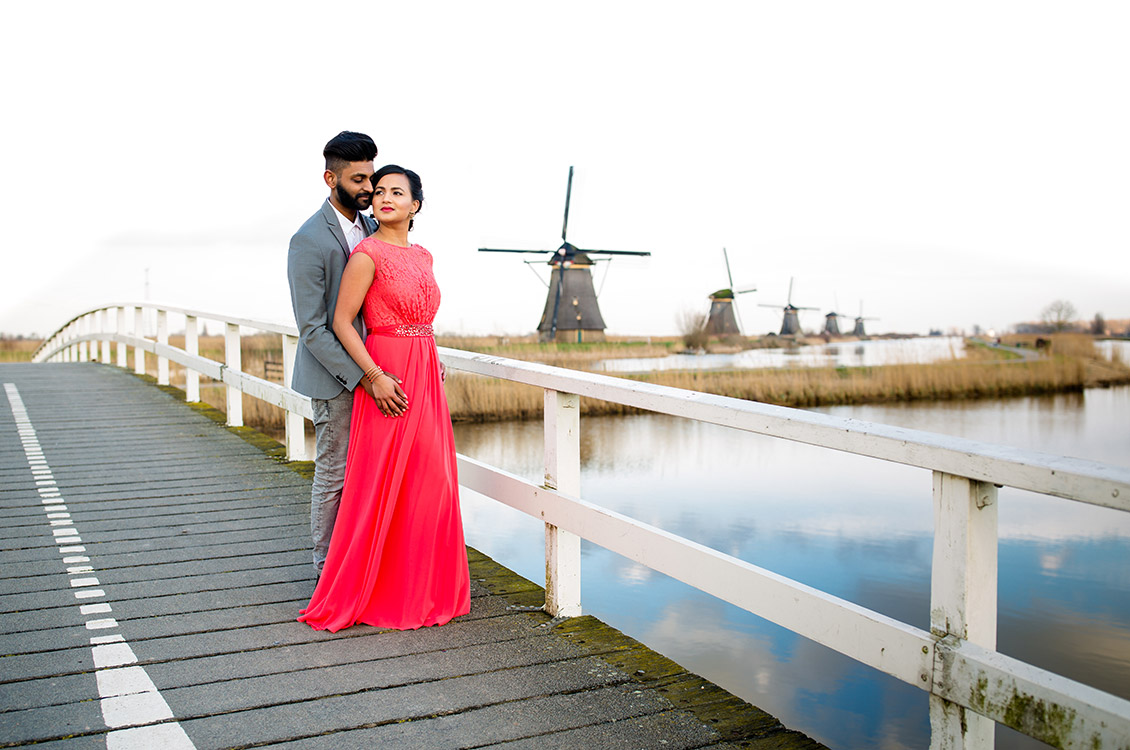 Kinderdijk Pre Wedding Holland-4