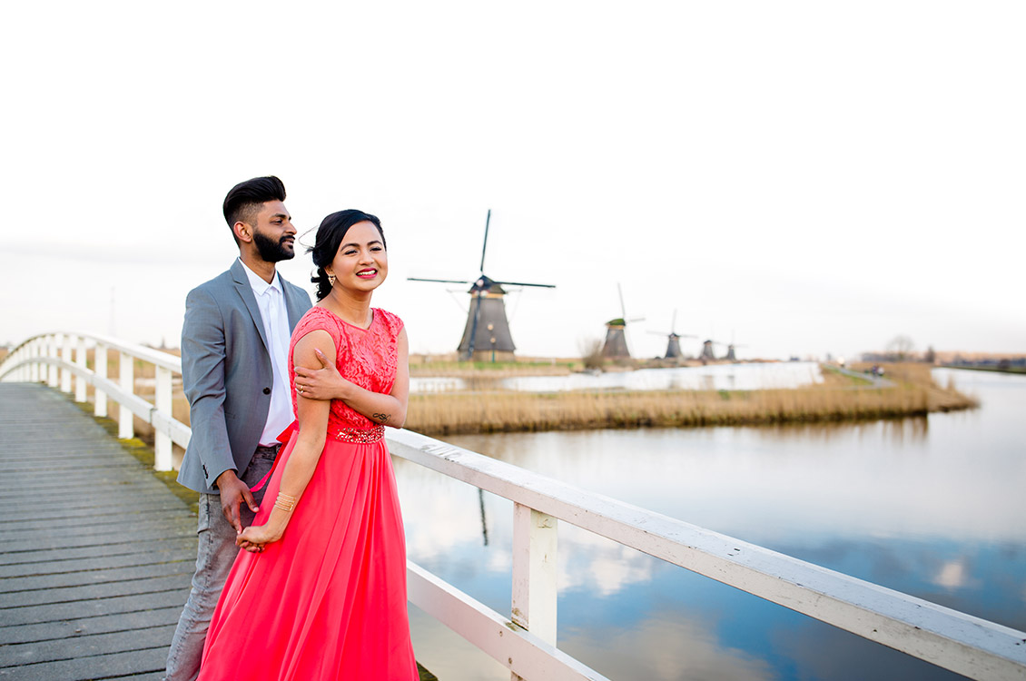 Kinderdijk Pre Wedding Holland-2