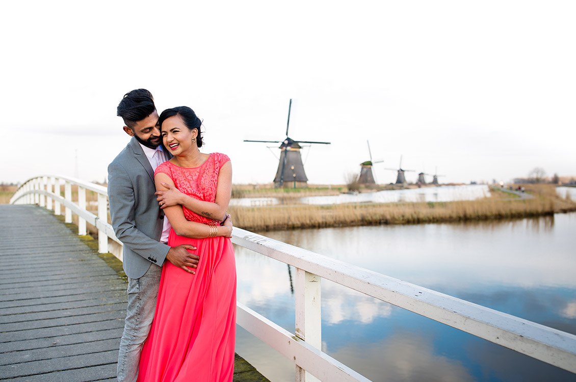 Kinderdijk Pre Wedding Holland-3
