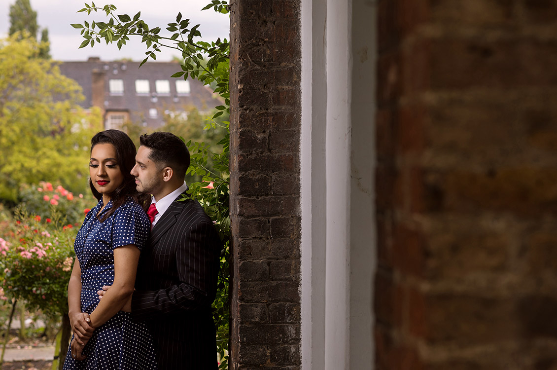 London Pre Wedding Session, Wayne & Gaya 2