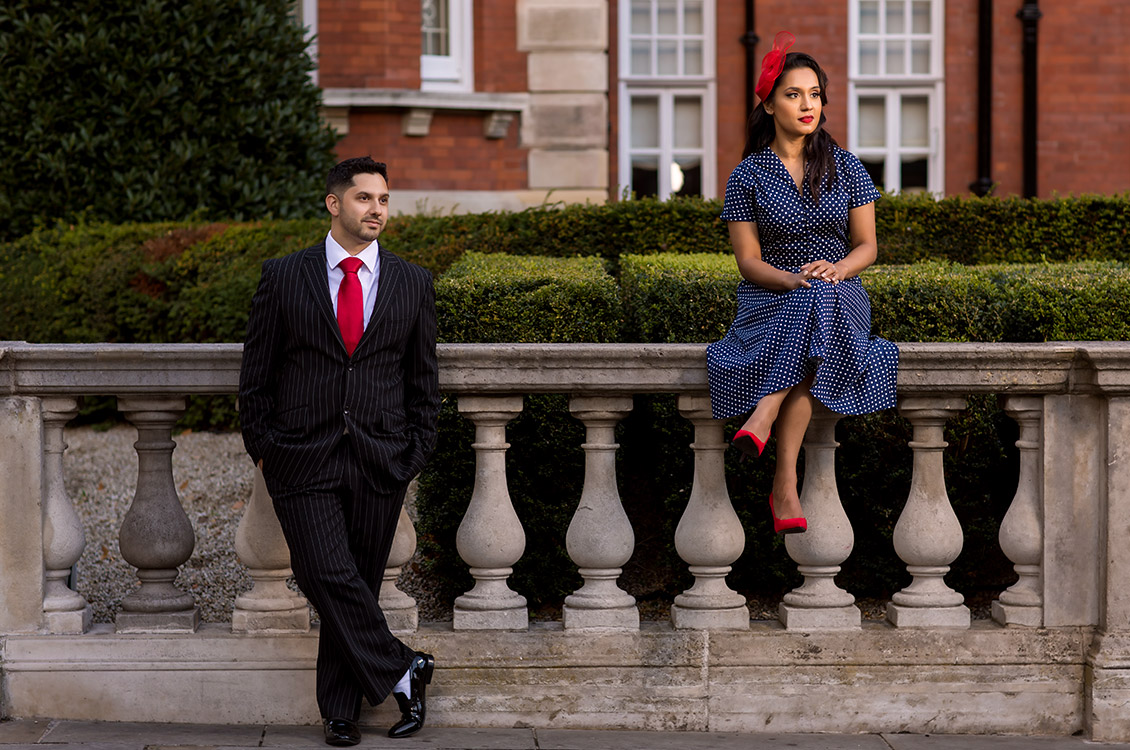 London Pre Wedding Session, Wayne & Gaya 7
